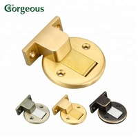 G444 door catcher magnet brass magnetic catch door stop