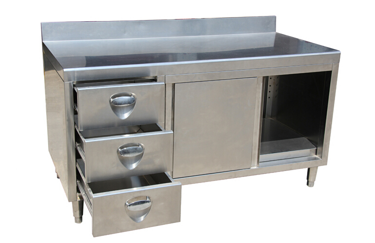 New Design Industrial Stainless Steel Commercial Kitchen