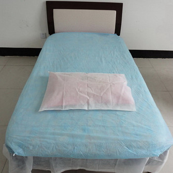 Disposable PP Non Woven Massage Fitted Bed Sheets