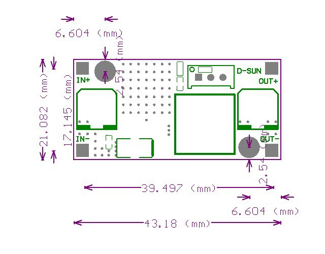 48v 12v To 5v Dc Dc Converter Circuit 4 5 53v To 3 40v 2 5a Step