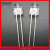 5mm flat top led diode with high brightness for lighting