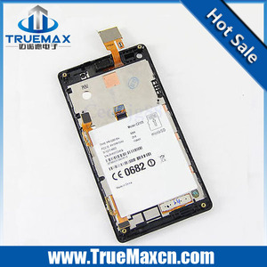 Wholesale Price for Sony Xperia L S36H LCD Assembly With Frame