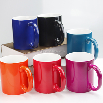 Sublimation blanks Personalized design 11oz sublimation color change mug magic