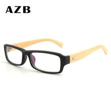 AZB Pria Kacamata Optik Frame Kacamata Frame Rak Komersial Kacamata  Kacamata Fashion Bingkai Miopia Titanium TR90 d0d5f10472