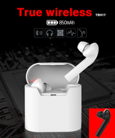 new products 2017 innovative product true wireless ear phone earphone earbuds bluetooth head phone for iphone 7 airpods