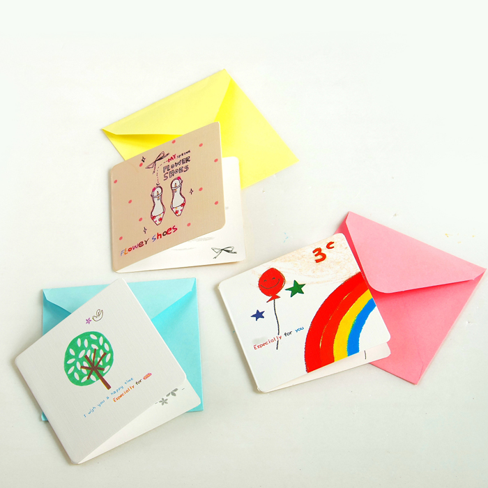 Buy 2015 Korean Thanksgiving Birthday Card Handmade English