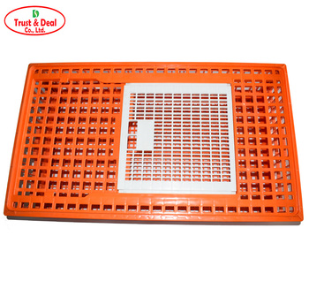 HDPE factory price poultry farms broiler chicken transport cage