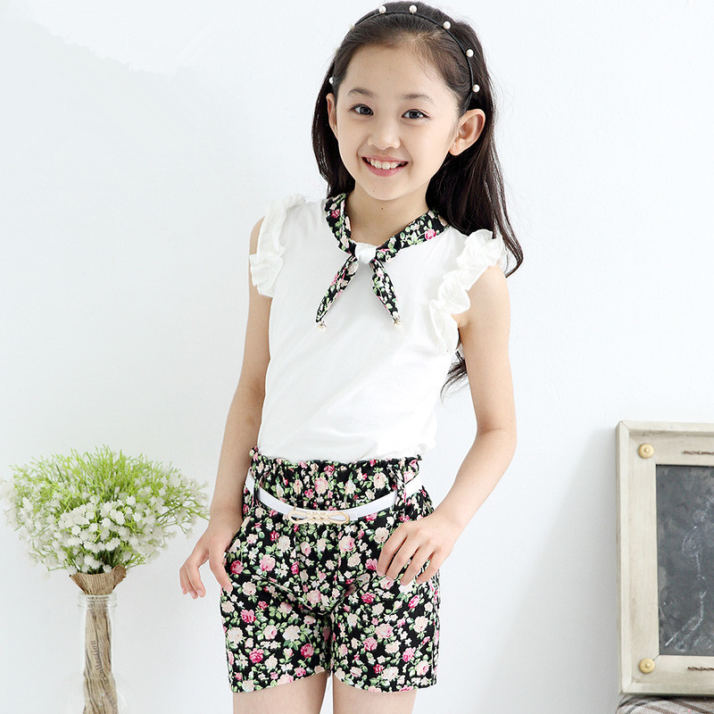 a38002c933e3 Buy Kids Clothing Girls Shirt Baby Kids Girls Children Clothing Sets ...