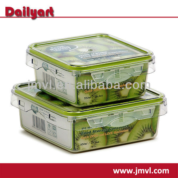 Microwave Food Grade Plastic Food Container Set