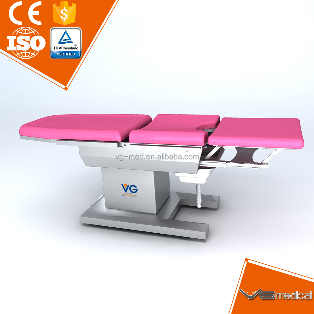 China supplier electric gynecology head operation table