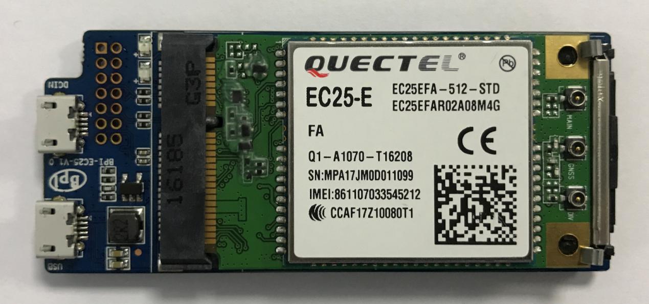 BPi-EC25 4G module FOR Banana PI bpi- R2 board, View 4G module, bpi