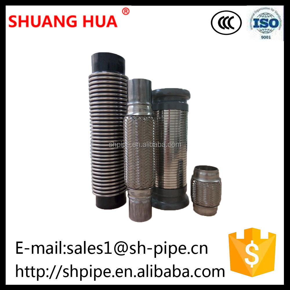 Exhaust Flexible and Airtight Corrugated Bellows Extend Exhaust System Life