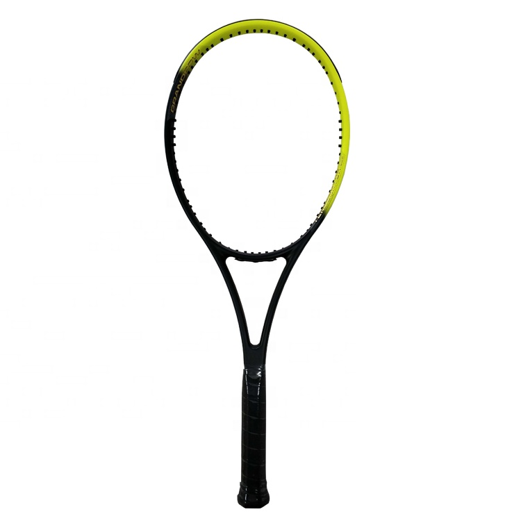 Custom een stuk model Full Carbon Fiber Tennisracket WTT02 voor medium en geavanceerde spelers China Fabriek