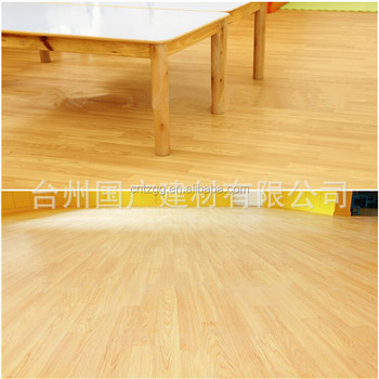 Factory Price Wooden Grain Surface Source Plastic Laminate Flooring