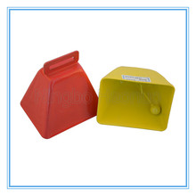 Sport Noise Makers Metal Cowbell For Cheering