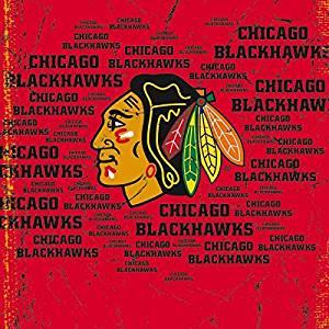 NHL Chicago Blackhawks Lifeproof fre iPhone 5&5s Skin - Chicago Blackhawks Blast Vinyl Decal Skin For Your Lifeproof fre iPhone 5&5s