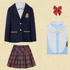 Winter School Uniform High- Quality Children School Uniform Design for Boys and Girls