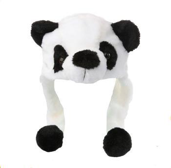 f6738e017 Winter Plush White Black Panda Animal Baby Fashion Kid Baby Hat - Buy  Fashion Animal Hat Scarf Gloves,Animal Hat Scarf Gloves With Paws,Faux Fur  ...