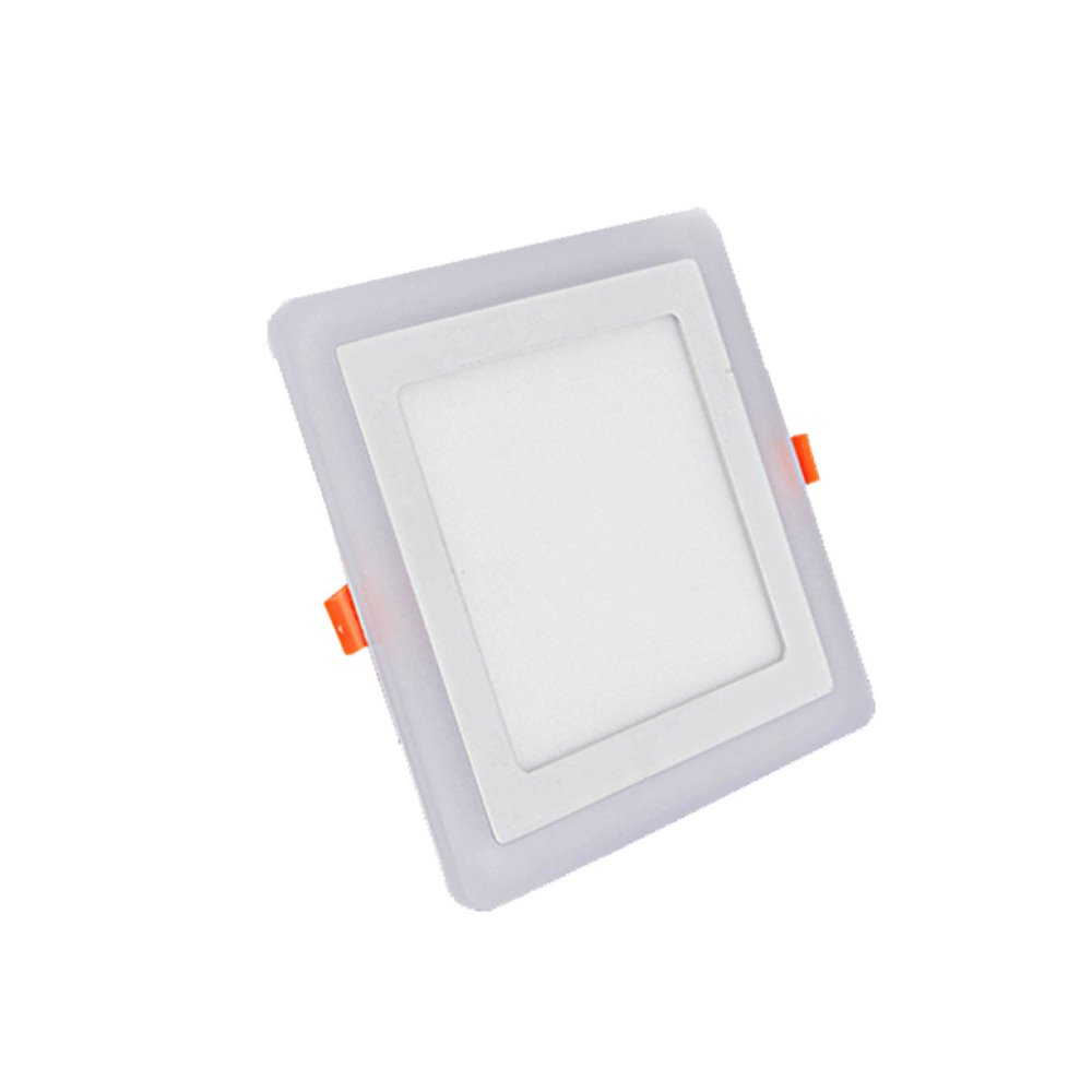 3 Color Changing Led Flat Panel Lighting 6W 12W 15W 18W With Square And Round Led Ceiling Panels