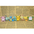 Mini 3d 200pcs anime pokemon durable collectibles action figure