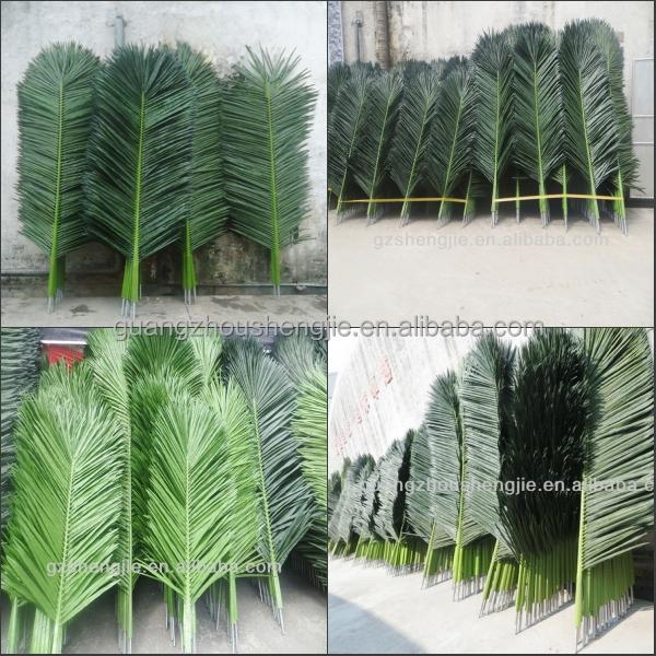 Sjh121717 artificial leafartificial palm tree leafcoconut leaf sjh121717 artificial leafartificial palm tree leafcoconut leaf design junglespirit Images
