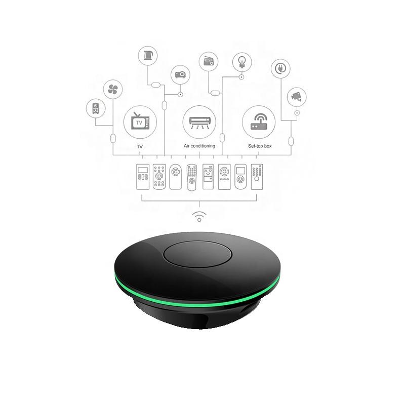 Small Smart Home Automation Black Zigbee IR Blaster - ANKUX COM