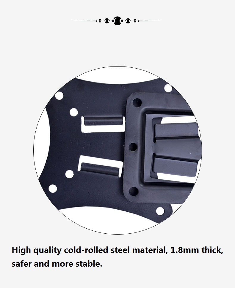 Mini de metal suporte de parede fixo Monitor de suporte de montagem Removível para inserir fivela montado na parede com