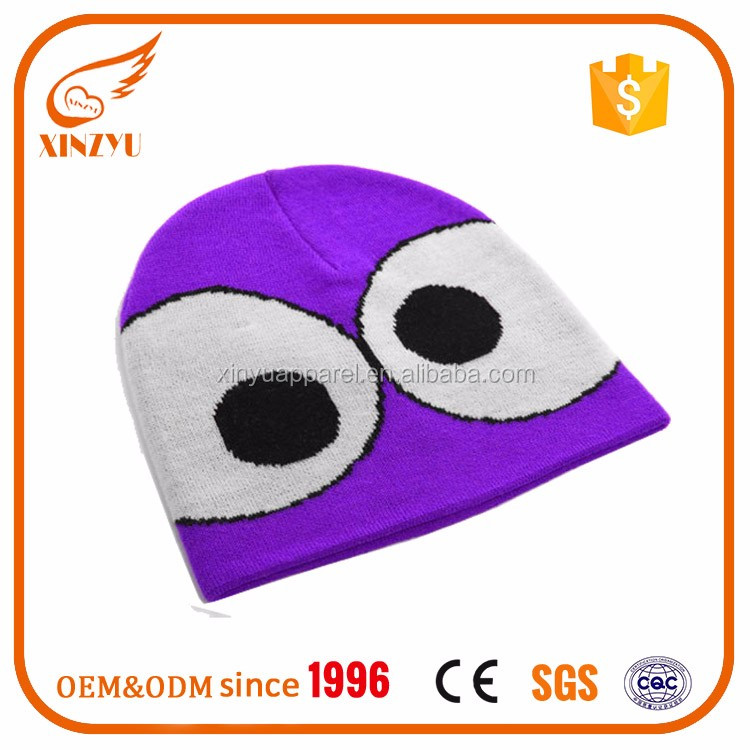 Cute Cartoon Characters Beanie Hat Knitted Cc Beanie Wholesale ...