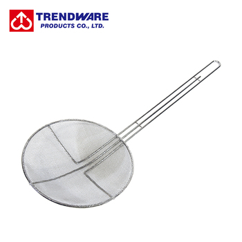 Kitchen Frying Utensil Round Cooking Skimmer