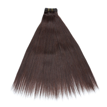 Color 4 Dark Brown Human Hair Extensions f4c8127ce