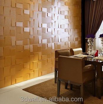 rubik embossed effect decorative 3d wall panel