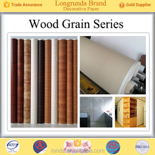 Branded products Low MOQ Various designs low pressure laminate decorative paper