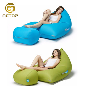 Cheap competitive price custom hot promotional bean bag chaise lounge