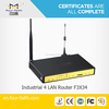 3G gateway Router with WIFI hotspot & sim card slot support VPN & TCP/IP F3434 for M2M terminal application