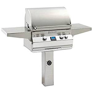 A430s6A1NG6 Digital Style In-Ground Post Mount Grill - Natural Gas