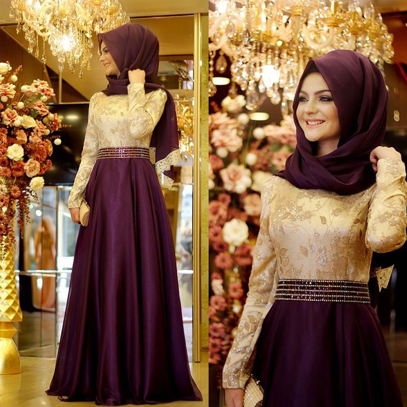 Online Kaufen Großhandel abendkleid für moslemische aus ...