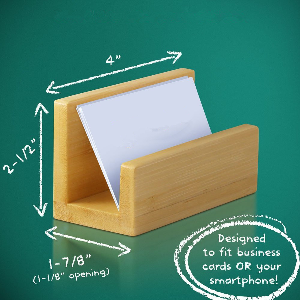 special business card holder bamboo holder for wholesale price and high quality