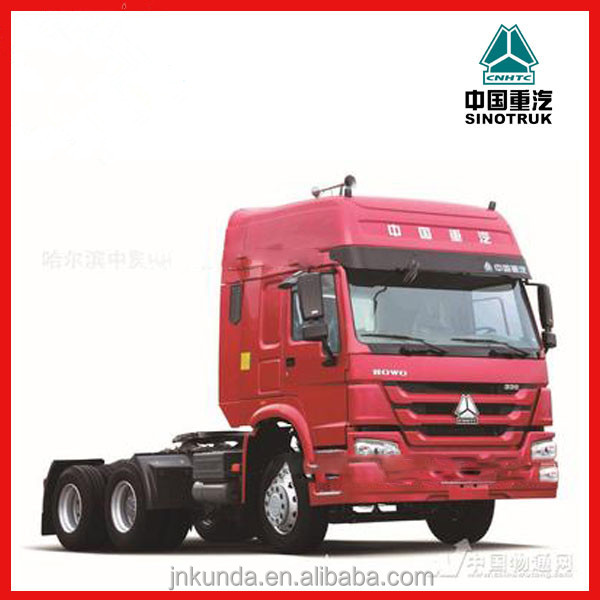 Cnhtc Howo Truck 371 Ps Prime Mover/trailer Head Truck /made In ...