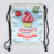 2018 Summer Shopping Bag Cool Ice Cream Drawstring Bag for Girls and Ladies