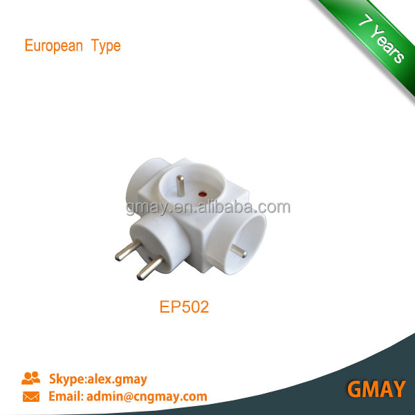 Multi plug and socket French type EP502