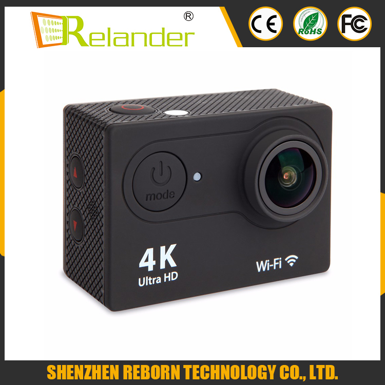 Ultra H9rse 2.0 Inch 4K 25FPS Remote Control Wifi Action Camera 4k with 12MP camera