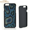 luxury python snakeskin leather mobile phone cover for apple phone case for iphone 6 leather cover for iphone 6 leather case