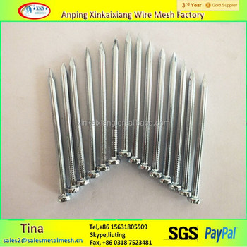 Corrugated Stainless Steel Roofing Coil Nails Concrete