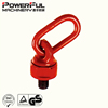 G80 Multi-directional Using Pivoting Lifting Swivel Point Eye Nut / Eye Screw with Omega Link