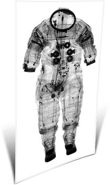 apollo space suit x ray - photo #2
