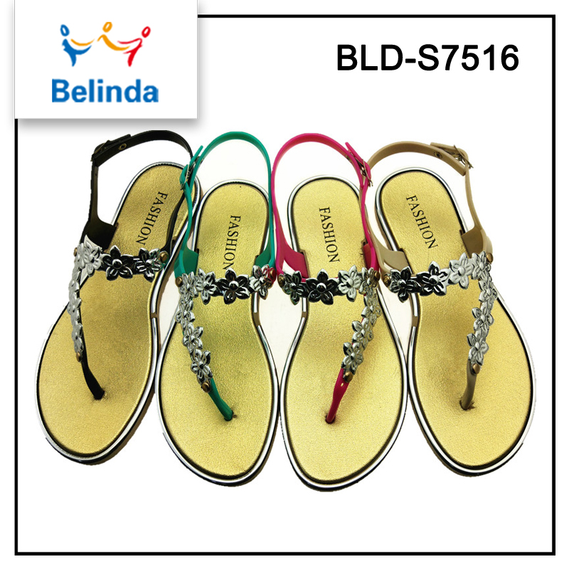 hot sale latest women indian bridal wedding sandals in fashion top design