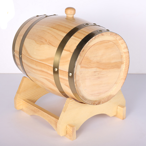 Good quality and low price wooden wine barrel