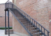 metal scaffolding outdoor residential steel stairs