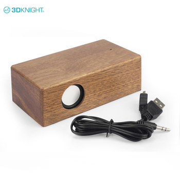 Best Quality Wood Mutual Induction Speaker For Smart Phone