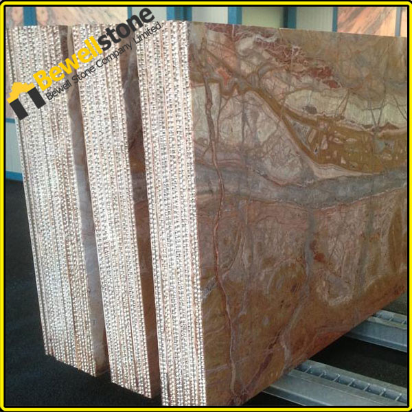 regen bos brown graniet gelamineerd honingraat aluminium tegels 3mm licht gewicht bruin marmer. Black Bedroom Furniture Sets. Home Design Ideas